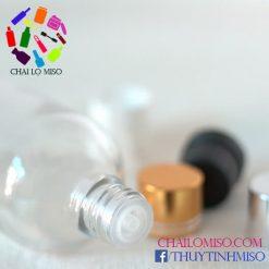 Chai tinh dầu trắng nhỏ giọt 100ml 2