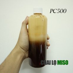 Chai nhựa PET cao 500ml nắp nhựa cao cấp 2