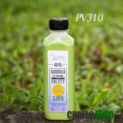 Chai nhựa PET vuông 310ml
