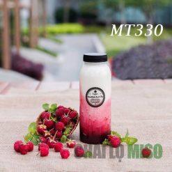 chai nhựa PET tròn miệng to mt330 4