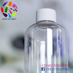 Chai nhựa nắp nhựa cao cấp 500ml form cao 2