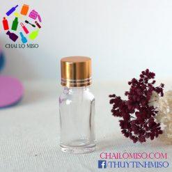 Chai tinh dầu trắng nhỏ giọt 10ml 2