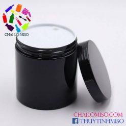 Hũ nhựa PET đen 500ml