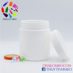 Hũ nhựa HDPE đựng bột 700ml